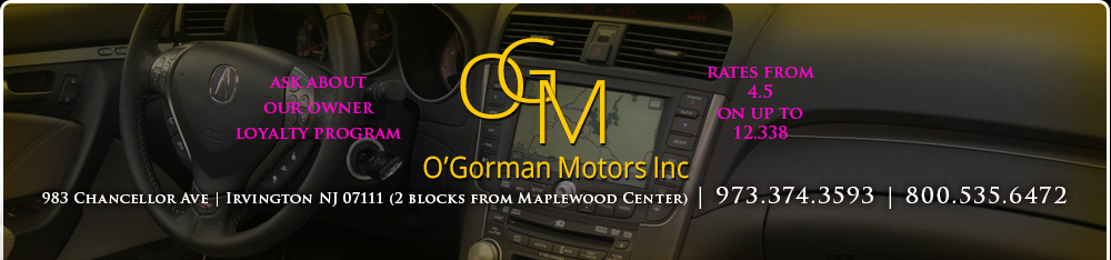 OGORMAN MOTORS INC - Irvington, NJ