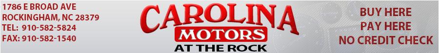 Carolina Motors at the Rock - Rockingham, NC