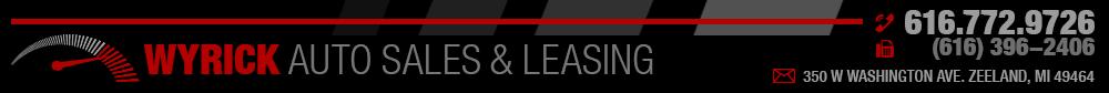 Wyrick Auto Sales & Leasing - Zeeland, MI