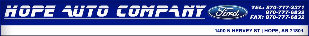 Hope Auto Company - Hope, AR