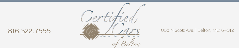 Certified Cars Of Belton - Belton, MO