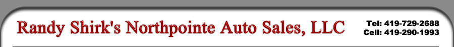 Randy Shirk's Northpointe Auto Sales, LLC - Toledo, OH