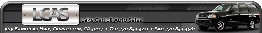 Lake Carroll Auto Sales - Carrollton, GA