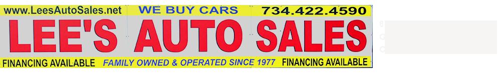 Lee's Auto Sales - Garden City, MI