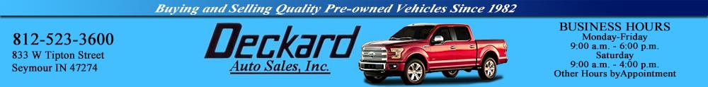 Deckard Auto Sales - Seymour, IN