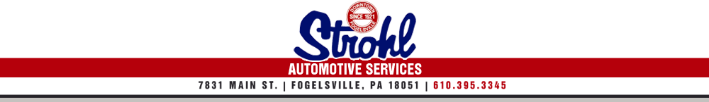 Strohl Automotive Services - Fogelsville, PA