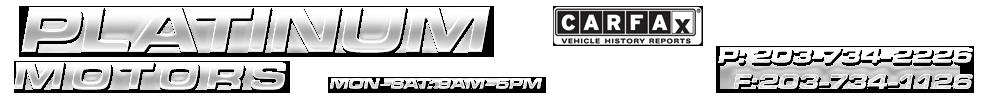 Platinum Motors - Ansonia, CT