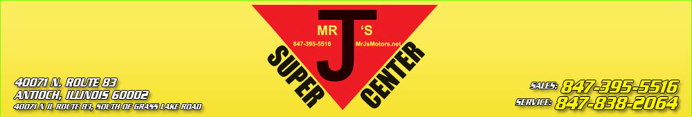 Mr. J's Motors Inc. - Antioch, IL
