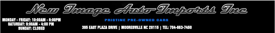 New Image Auto Imports Inc - Mooresville, NC