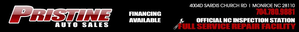 Pristine Auto Sales - Monroe, NC