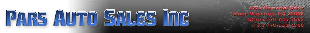 Pars Auto Sales Inc - Stone Mountain, GA