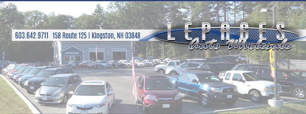 Lepages Auto Wholesale - Kingston, NH