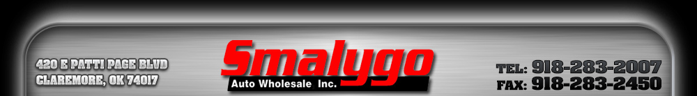 Smalygo Auto Wholesale - Claremore, OK