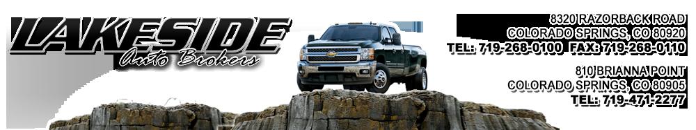 Lakeside Auto Brokers Inc. - Colorado Springs, CO