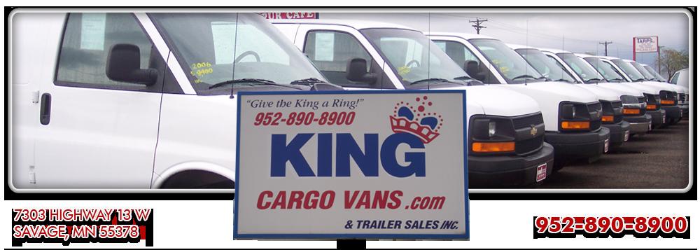 Used Work Vans >> King Cargo Vans Inc Commercial Vans For Sale Savage Mn