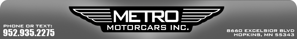 Metro Motorcars Inc - Hopkins, MN