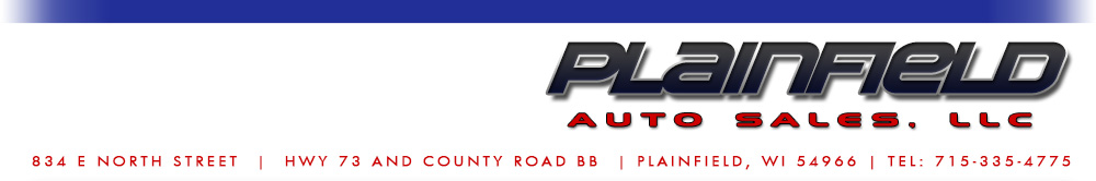 Plainfield Auto Sales, LLC - Plainfield, WI