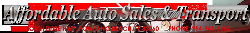 Affordable Auto Sales - Pompano Beach, FL