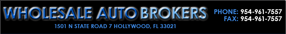Wholesale Auto Brokers - Hollywood, FL