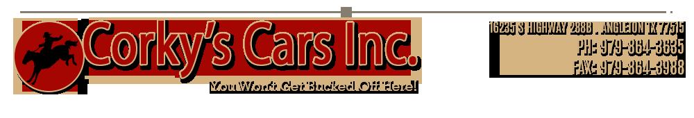 Corkys Cars, Inc. - Angleton, TX