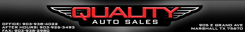 QUALITY AUTO SALES - Marshall, TX