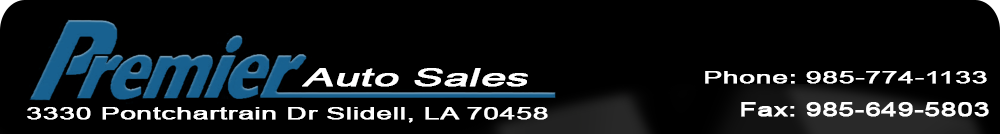 Premier Auto Sales Used Cars Slidell La Dealer