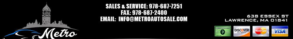Metro Auto Sales - Lawrence, MA