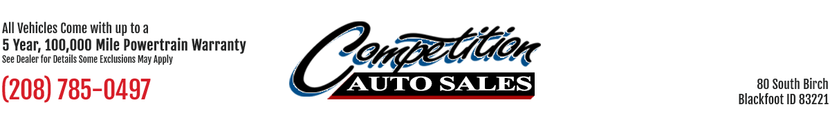 Competition Auto Sales - Blackfoot, ID