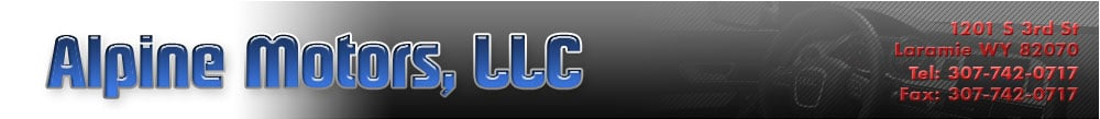 Alpine Motors LLC - Laramie, WY