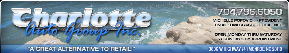Charlotte Auto Group, Inc - Monroe, NC