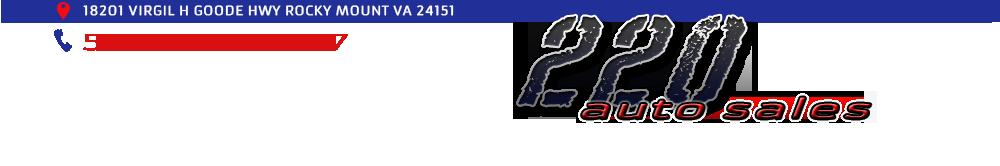 220 Auto Sales - Rocky Mount, VA