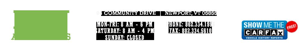 Key Auto Sales - Newport, VT
