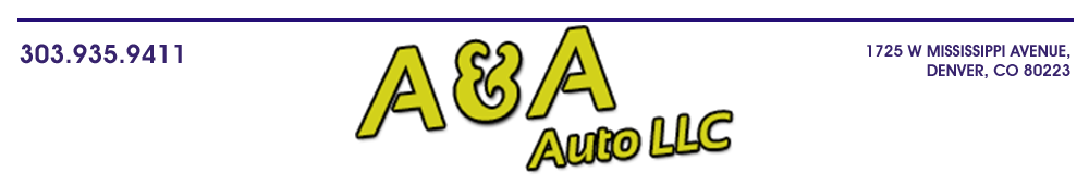 A & A AUTO LLC - Denver, CO