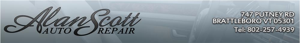 ALAN SCOTT AUTO REPAIR - BRATTLEBORO, VT