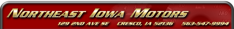 Northeast Iowa Motors - Cresco, IA