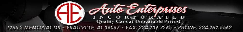 AUTO ENTERPRISES - prattville , AL