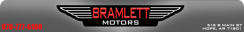 BRAMLETT MOTORS - HOPE, AR