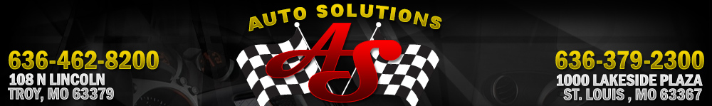 AUTO SOLUTIONS - Troy, MO