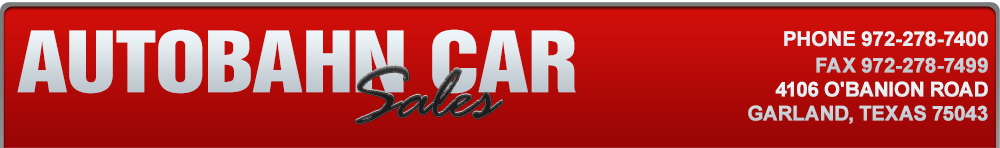 AUTOBAHN CAR SALES - Garland, TX