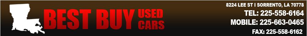 BEST BUY USED CARS - SORRENTO, LA