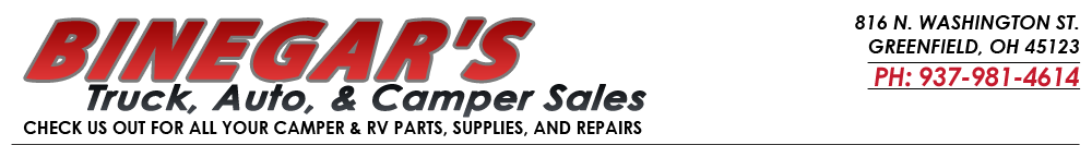 Binegar's Truck, Auto & Camper Sales - GREENFIELD, OH
