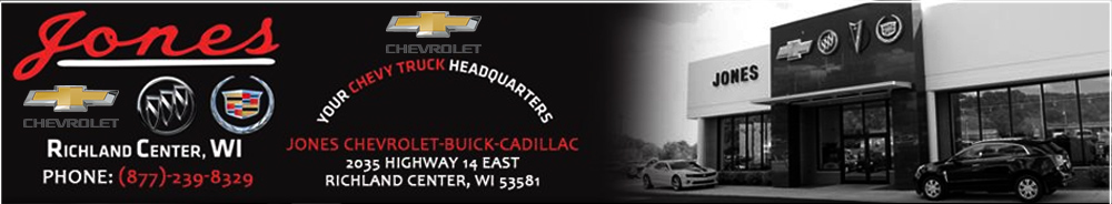 Jones Chevrolet Buick Cadillac - Richland Center, WI