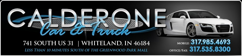 CALDERONE CAR & TRUCK - Whiteland, IN