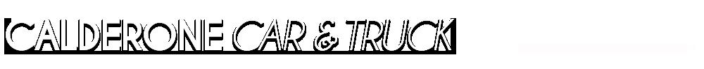 CALDERONE CAR & TRUCK - WHITELAND, IN