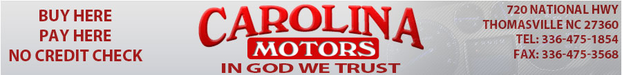 CAROLINA MOTORS - Thomasville, NC