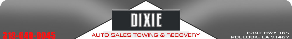 Dixie Auto Sales Towing & Recovery - Pollock, LA
