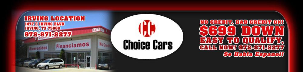 CHOICE CARS - Irving, TX