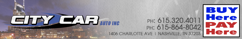 CITY CAR AUTO INC - Nashville, TN