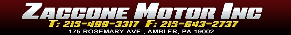 Zaccone Motor Inc - Ambler, PA