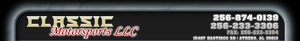 CLASSIC MOTORSPORTS LLC - Athens, AL